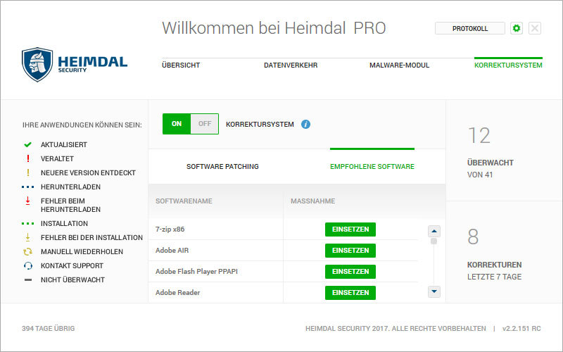 Heimdal PRO Family Edition screenshot 6