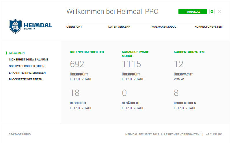 Heimdal PRO Family Edition screenshot 7