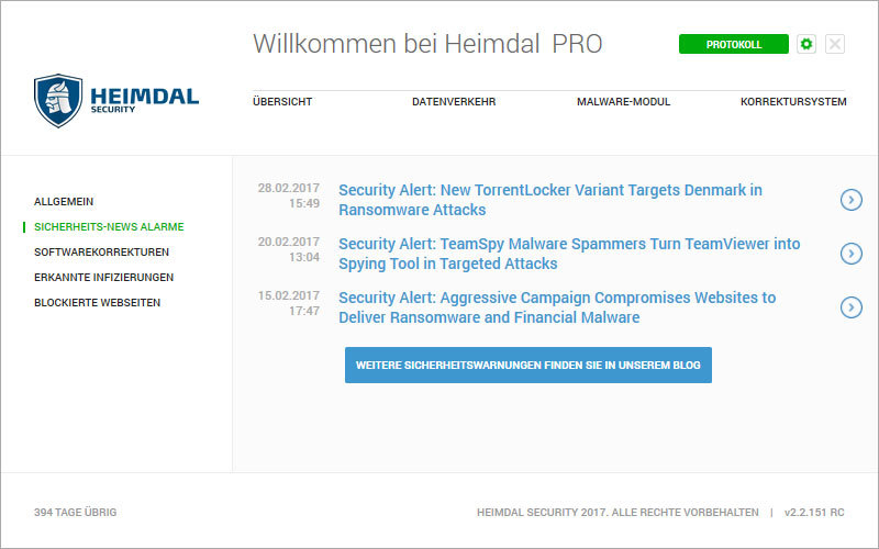 Heimdal PRO Family Edition screenshot 8