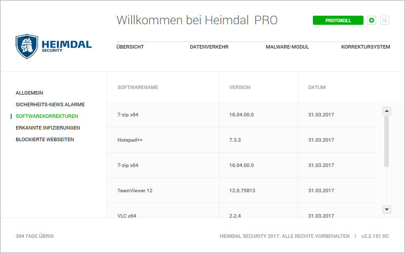 Heimdal PRO Family Edition screenshot 9