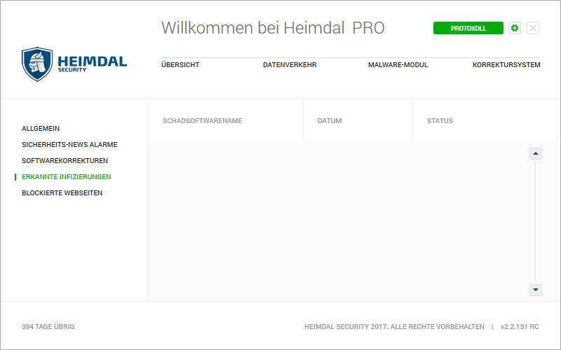 Heimdal PRO Family Edition screenshot 10