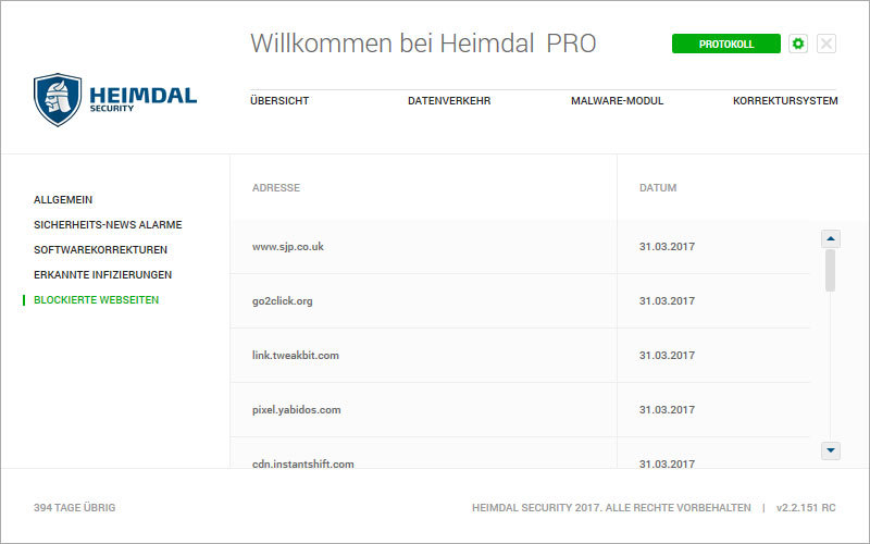 Heimdal PRO Family Edition screenshot 11