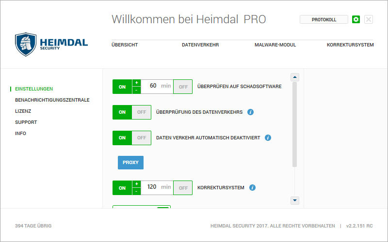 Heimdal PRO Family Edition screenshot 12