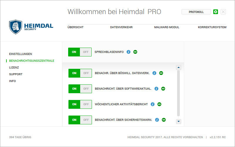 Heimdal PRO Family Edition screenshot 13