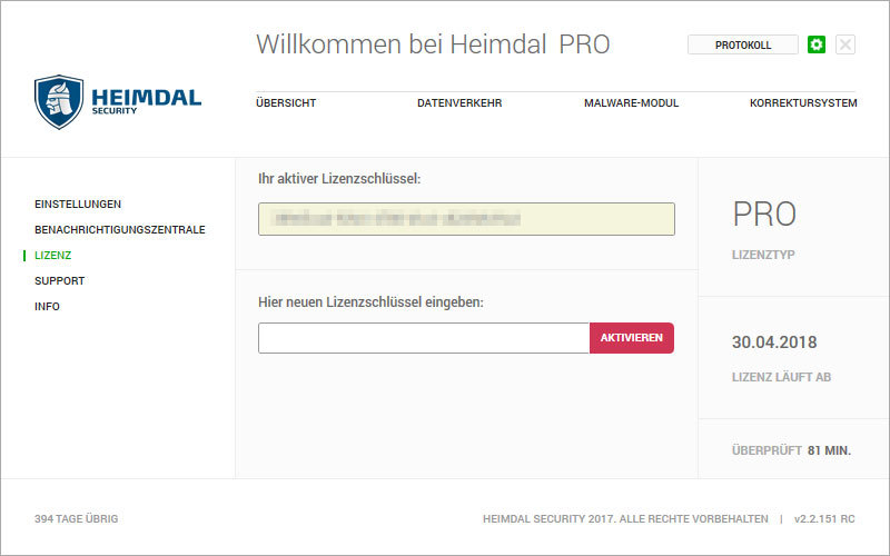 Heimdal PRO Family Edition screenshot 14