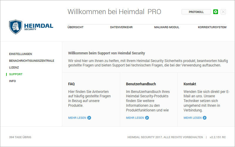 Heimdal PRO Family Edition screenshot 15