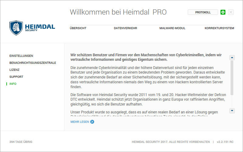 Heimdal PRO Family Edition screenshot 16