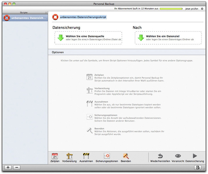 Intego Internet Security Barrier X6 screenshot 1
