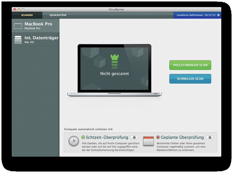 Intego Mac Internet Security 2013 screenshot 4