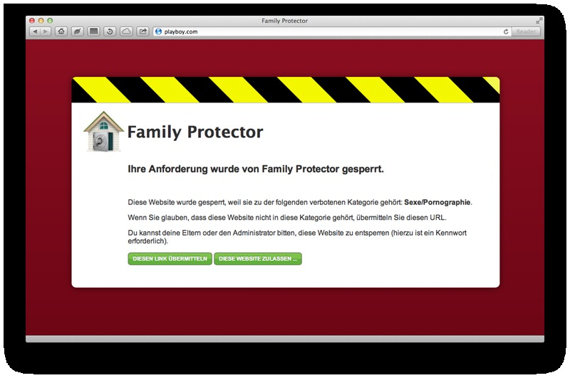 Family Protector 2013 screenshot 1