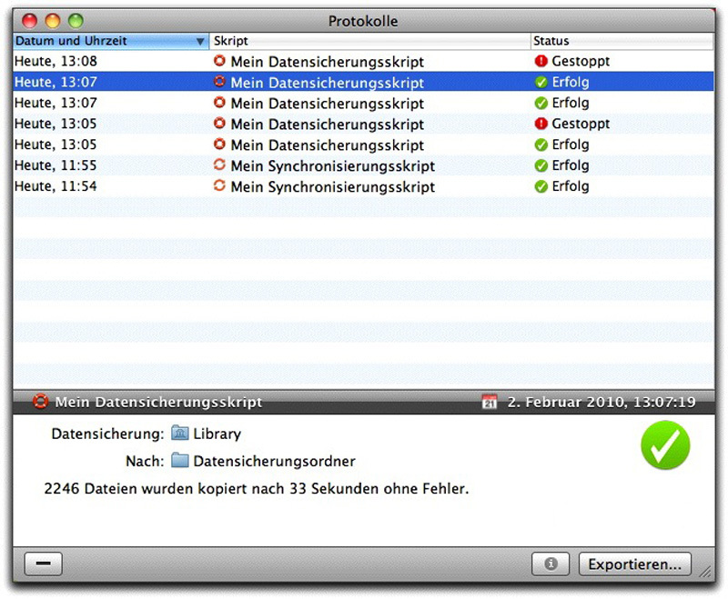 Personal Backup 2013 screenshot 4