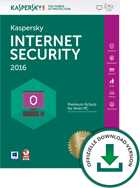 Kaspersky Internet Security 2016 2 PCs Limited Edition