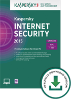 Kaspersky Internet Security 2015 (Upgrade)