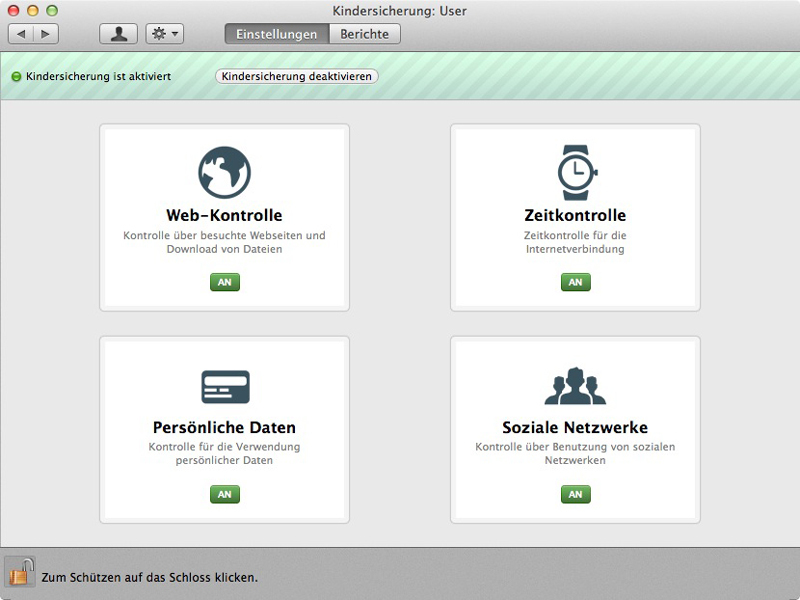 Kaspersky SECURITY for Mac screenshot 2