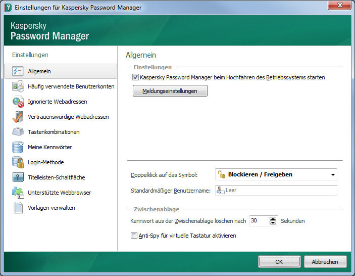 Kaspersky Password Manager 5.0 screenshot 2