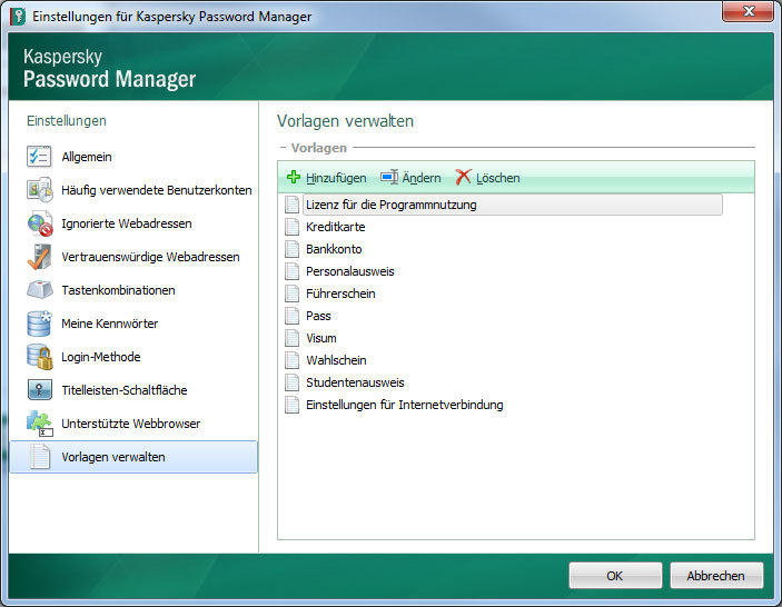 Kaspersky Password Manager 5.0 screenshot 4