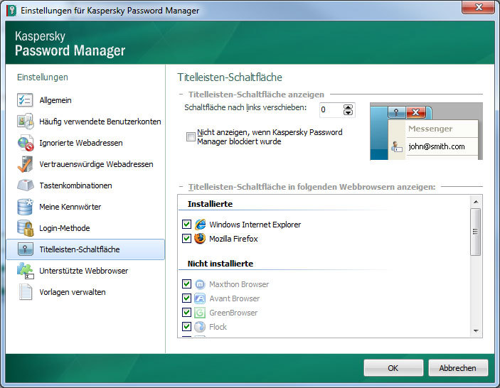Kaspersky Password Manager 5.0 screenshot 5