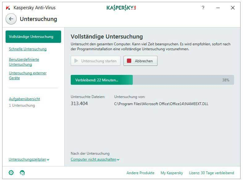 Kaspersky Anti-Virus 2017 screenshot 2