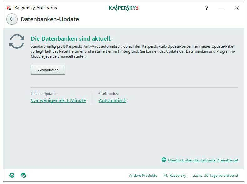 Kaspersky Anti-Virus 2017 screenshot 3