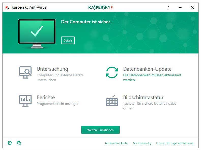 Kaspersky Anti-Virus 2017 screenshot 4