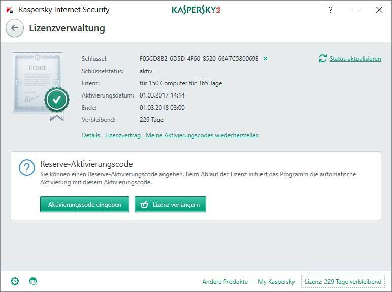 Kaspersky Internet Security + Kaspersky Internet Security für Android screenshot 2