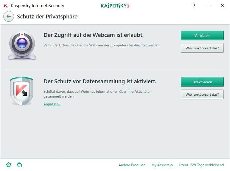 Kaspersky Internet Security + Kaspersky Internet Security für Android screenshot 6