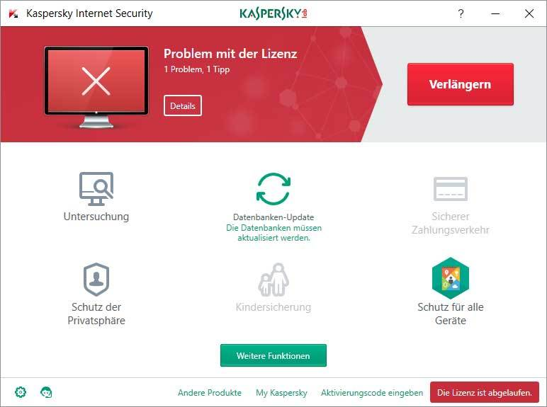 Kaspersky Internet Security - Upgrade screenshot 3