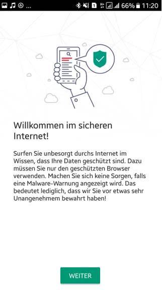 Kaspersky Internet Security for Android - 2 Geräte screenshot 2