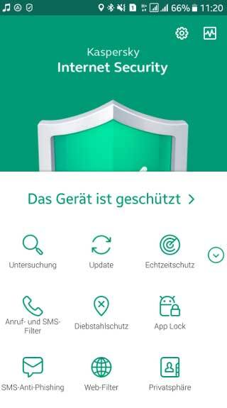 Kaspersky Internet Security for Android - 2 Geräte screenshot 4