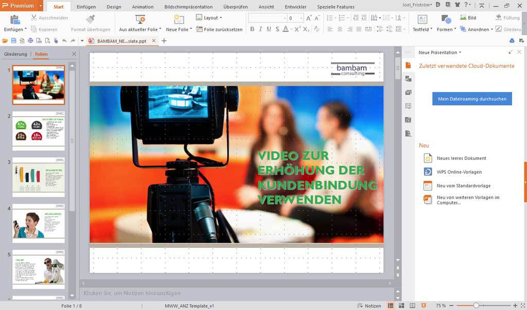 WPS Office Business Edition - (Jährliche Rechnung) screenshot 5