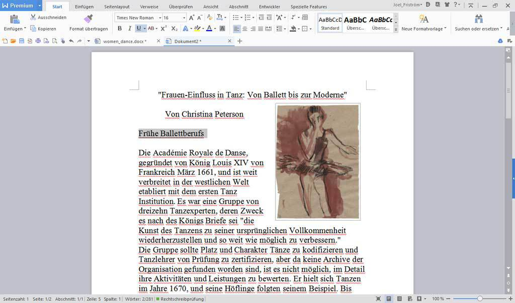 WPS Office Business Edition - (Jährliche Rechnung) screenshot 1