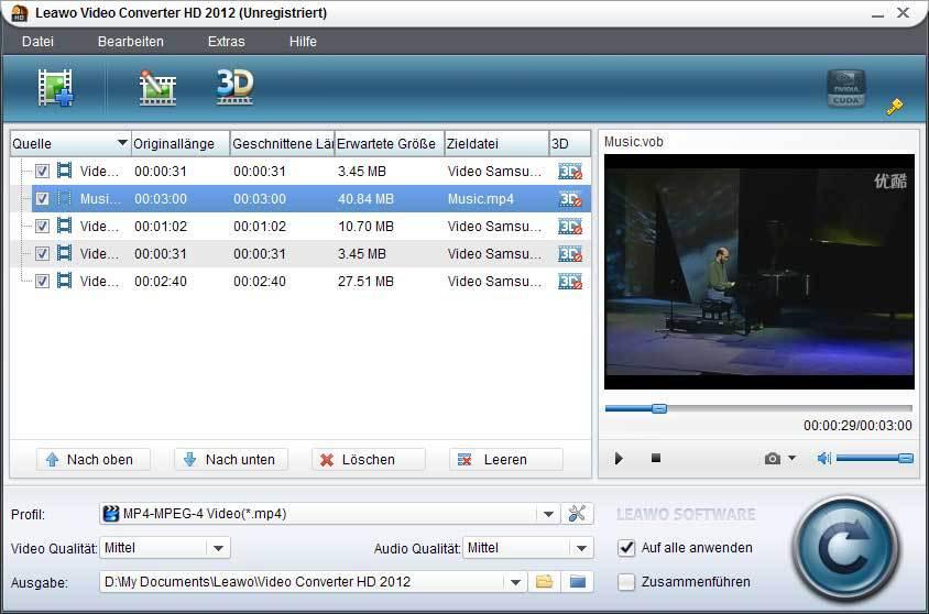 Leawo Video Converter HD