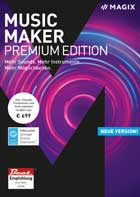 MAGIX Music Maker 2018 Premium Edition