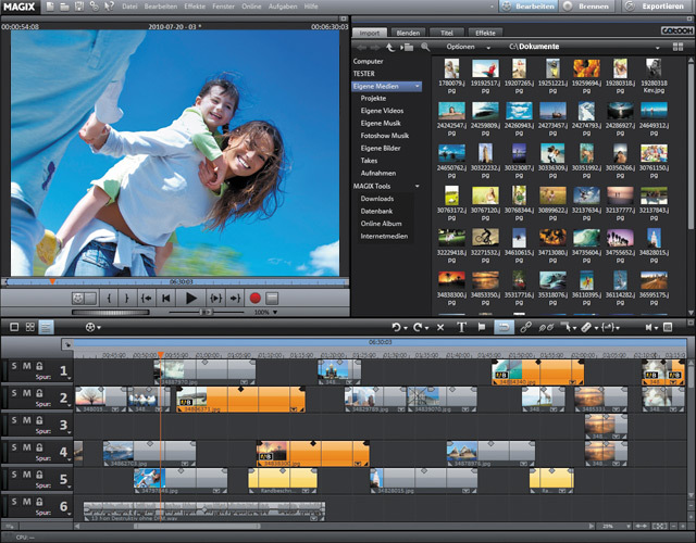 MAGIX Video deluxe 17 screenshot 1