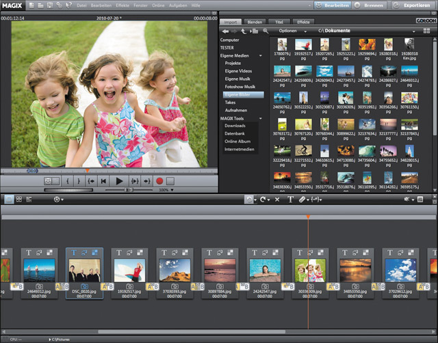 MAGIX Video deluxe 17 screenshot 2