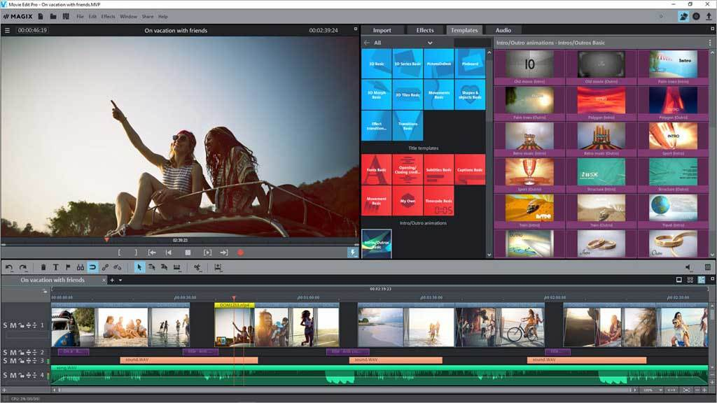 MAGIX Video Deluxe 2018 screenshot 2