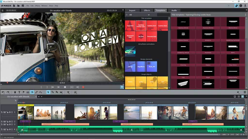 MAGIX Video Deluxe 2018 screenshot 3