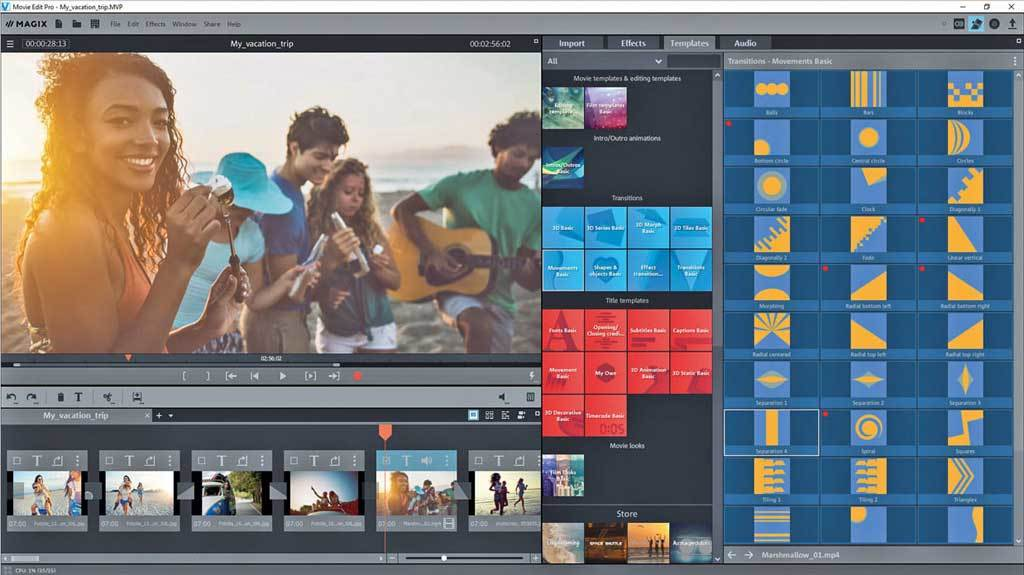 MAGIX Video Deluxe 2018 screenshot 4