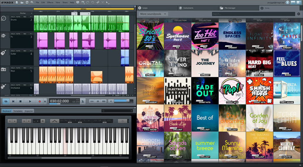 MAGIX Music Maker Plus Edition 2019 screenshot 1