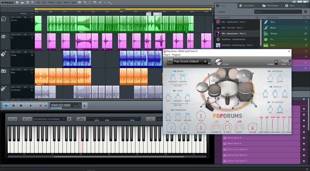 MAGIX Music Maker Plus Edition 2019 screenshot 2
