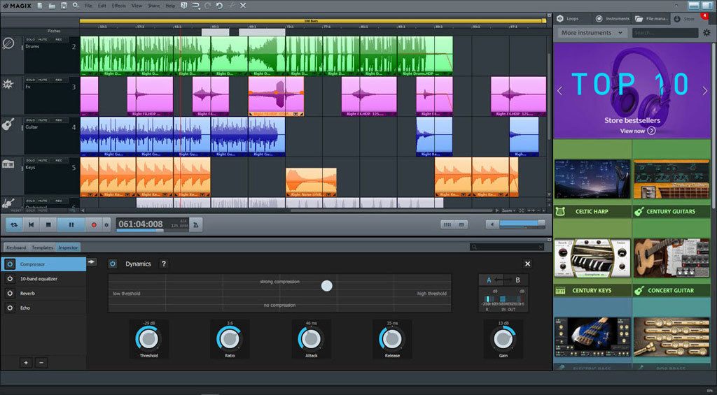 MAGIX Music Maker Plus Edition 2019 screenshot 3