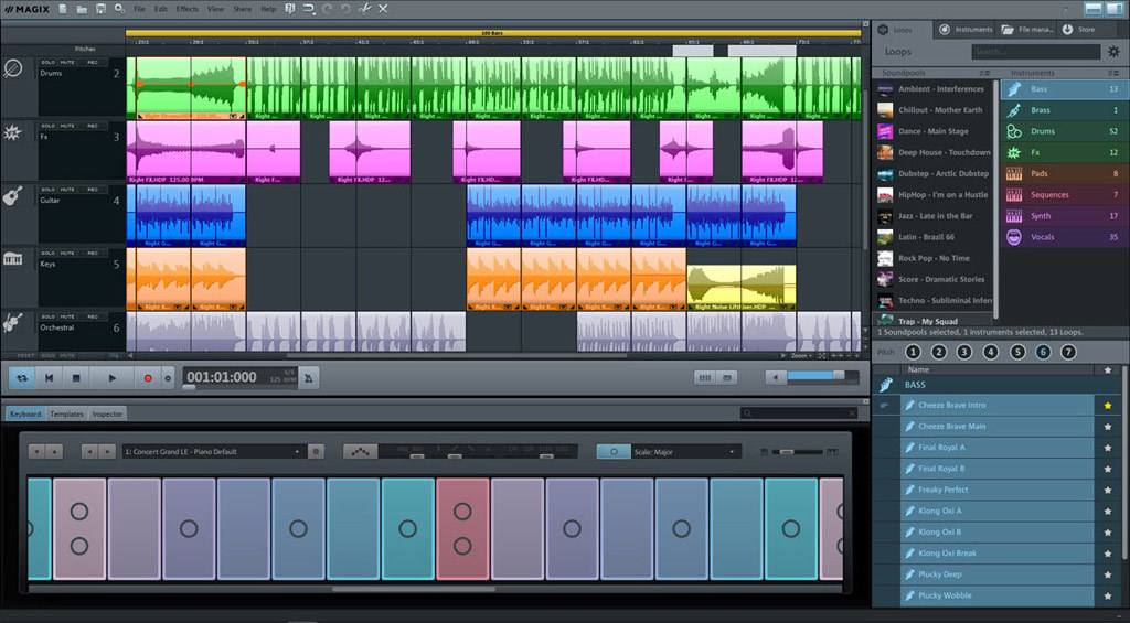 MAGIX Music Maker Plus Edition 2019 screenshot 5