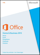 Microsoft Office Home and Business 2013 - 1 PC - Download