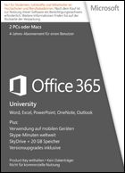 Microsoft Office 365 University - Subscription 4 years
