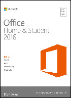 Microsoft Office Home and Student 2016 - MAC