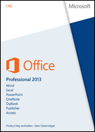 Microsoft Office Pro 2013 - 1 PC - Download