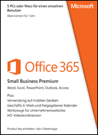 Microsoft Office 365 Small Business Premium - Subscription 1 year