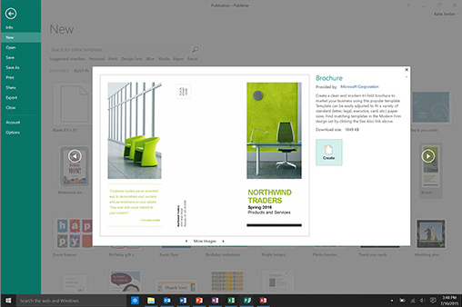 Office Professionnel 2016 screenshot 1