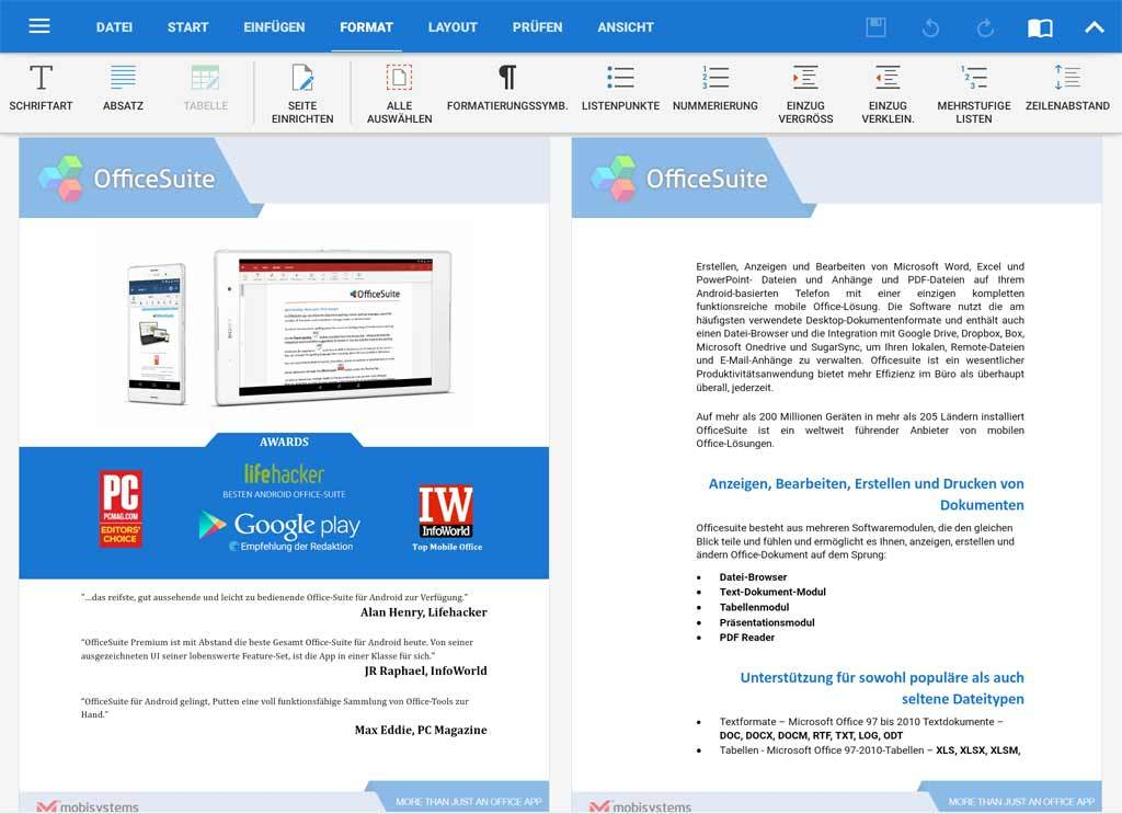 OfficeSuite Premium - 1 Year screenshot 6