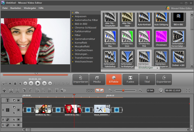 Movavi Video Suite 11 Business screenshot 1